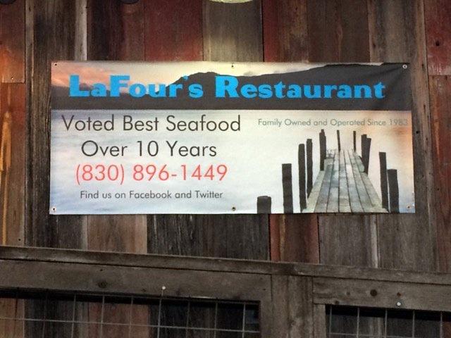 Lafour's Seafood Restaurant Kerrville Texas 2