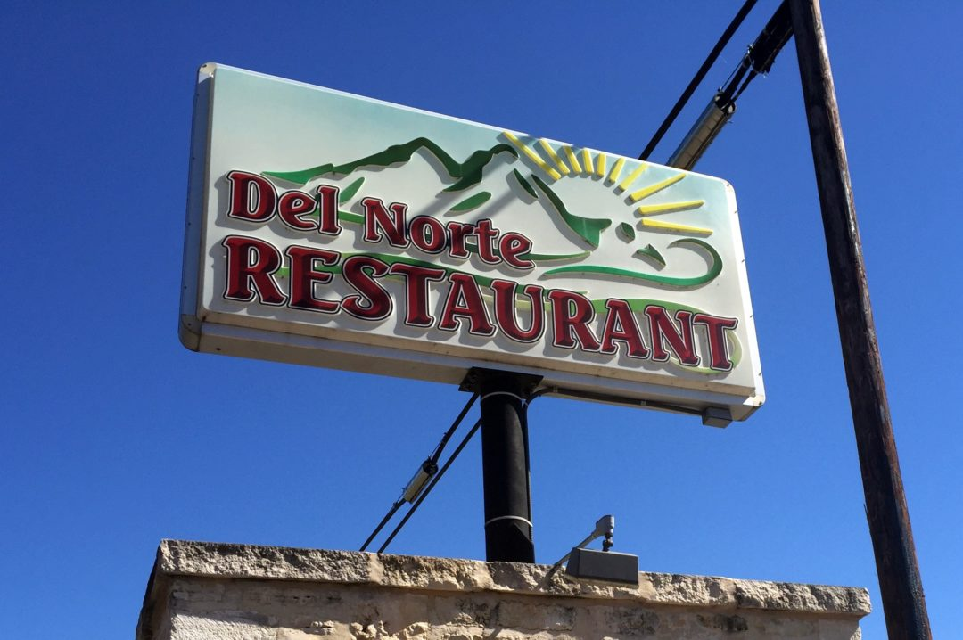 Del Norte Restaurant Menu